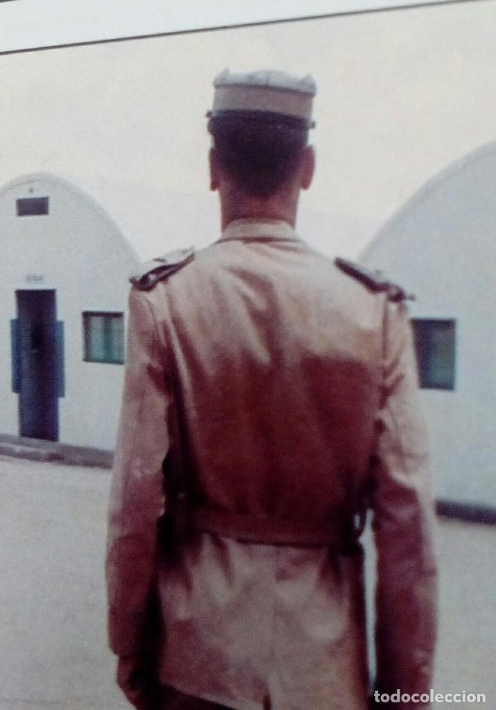 Militaria: TERESIANA ATN. GORRA TROPAS NÓMADAS DEL SÁHARA TALLA MUY GRANDE 60, MUY BUEN ESTADO. - Foto 8 - 145319120