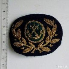 Militaria: ANTIGUA GALLETA DE GORRA DE LA MARINA MERCANTE MAQUINAS,MAQUINISTA. Lote 119254587