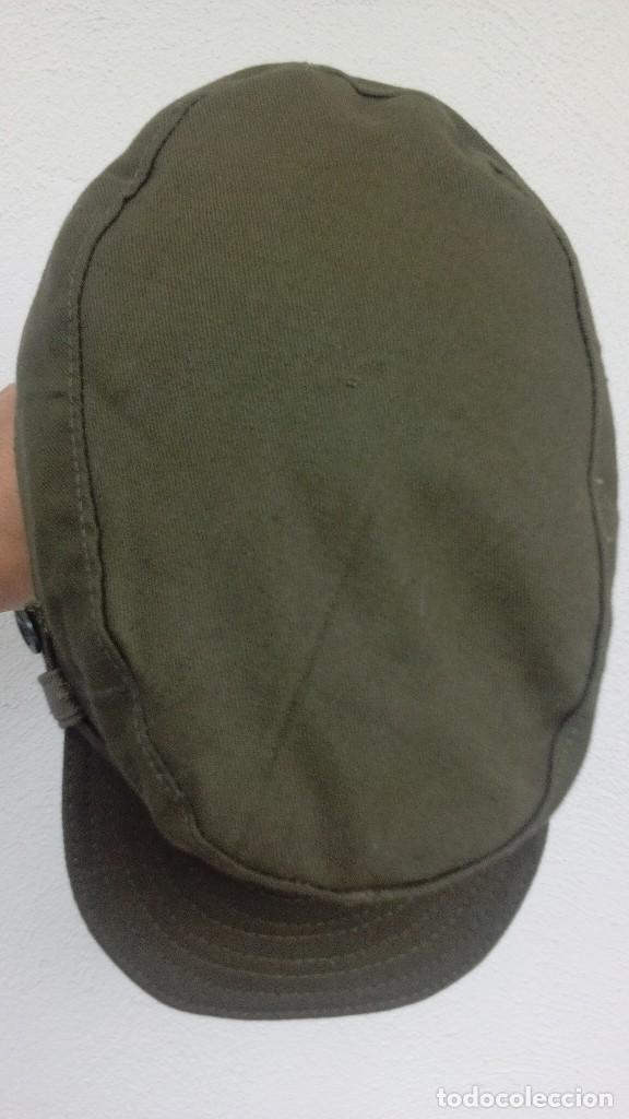 Militaria: Gorra de faena verde caqui, m1960, perfecto estado, talla M. Sidi Ifni, BRIPAC - Foto 2 - 119443243