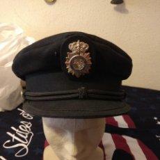 Militaria: GORRA DE PLATO DEL CUERPO NACIONAL DE POLICIA. POLICÍA NACIONAL. Lote 120353208
