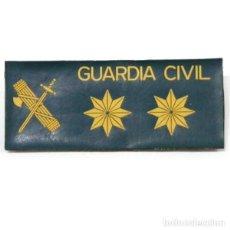 Militaria: GALLETA DE AGUA ANORAK DE GUARDIA CIVIL EMPLEO TENIENTE CORONEL CON VELCRO. Lote 119584435