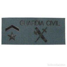 Militaria: GALLETA TRAJE DE CAMPAÑA GUARDIA CIVIL EMPLEO SUBTENIENTE CON VELCRO. Lote 119584691