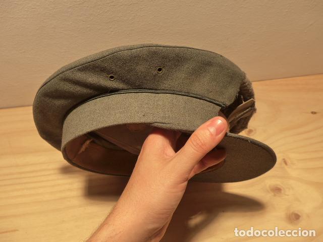 Militaria: Antigua gorra de carabineros o guardia civil, original, lastima rotura frontal. - Foto 4 - 119991515