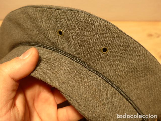 Militaria: Antigua gorra de carabineros o guardia civil, original, lastima rotura frontal. - Foto 5 - 119991515