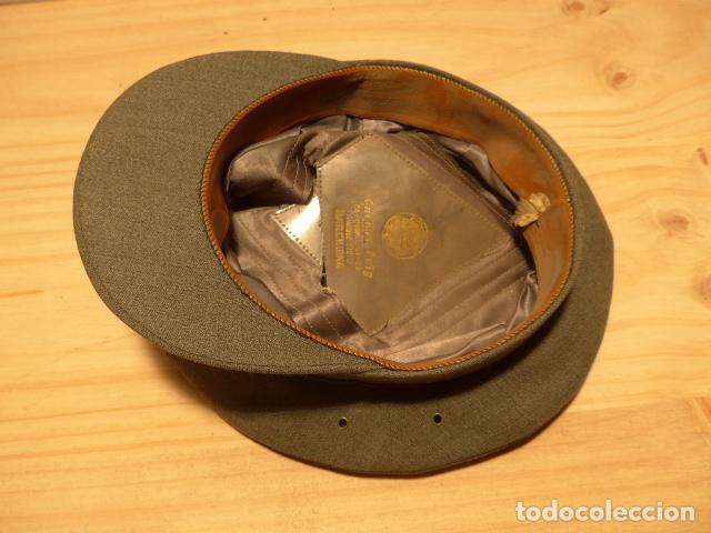 Militaria: Antigua gorra de carabineros o guardia civil, original, lastima rotura frontal. - Foto 8 - 119991515