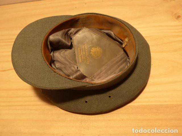 Militaria: Antigua gorra de carabineros o guardia civil, original, lastima rotura frontal. - Foto 11 - 119991515