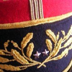 Militaria: BELLISIMO KEPI O GORRA DE GALA O PARADA DE GENERAL FRANCÉS. MODELO 1984. GRAN CALIDAD EN EL BORDADO.. Lote 120902999
