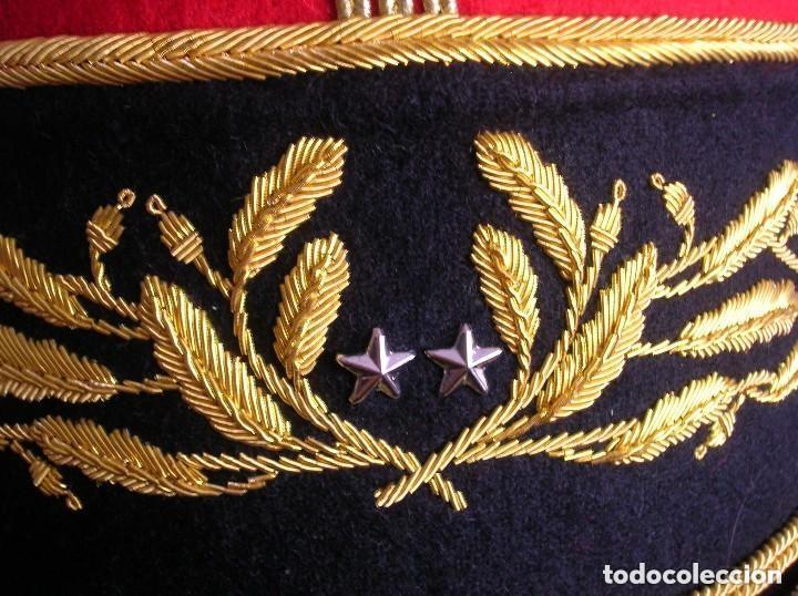 Militaria: BELLISIMO KEPI O GORRA DE GALA O PARADA DE GENERAL FRANCÉS. MODELO 1984. GRAN CALIDAD EN EL BORDADO. - Foto 4 - 120902999