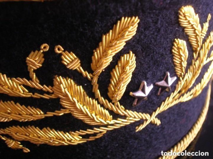 Militaria: BELLISIMO KEPI O GORRA DE GALA O PARADA DE GENERAL FRANCÉS. MODELO 1984. GRAN CALIDAD EN EL BORDADO. - Foto 16 - 120902999