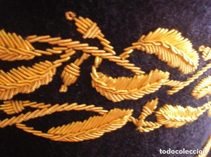 Militaria: BELLISIMO KEPI O GORRA DE GALA O PARADA DE GENERAL FRANCÉS. MODELO 1984. GRAN CALIDAD EN EL BORDADO. - Foto 19 - 120902999