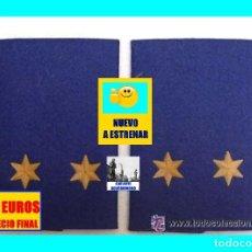 Militaria: EJÉRCITO DEL AIRE DE ESPAÑA - FUERZA AÉREA ESPAÑOLA - AVIACIÓN - HOMBRERAS / MANGUITOS DE TENIENTE. Lote 222186106