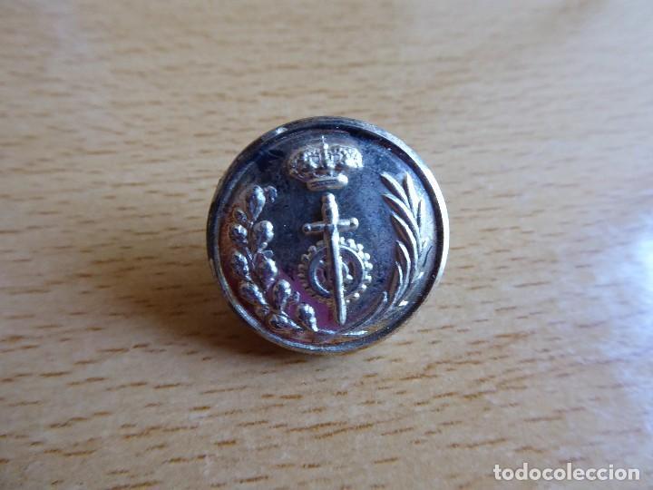 BOTÓN CUERPO DE PRISIONES. ALFONSO XIII (Militar - Botones )