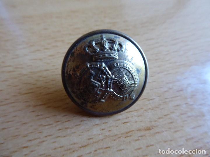BOTÓN JUSTICIA MILITAR. ALFONSO XIII (Militar - Botones )