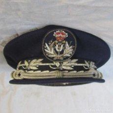 Militaria: GORRA DE PLATO MARINA ESPAÑOLA. Lote 121470239