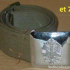 Militaria: CINTURON HEBILLA EJERCITO TIERRA. Lote 124691847