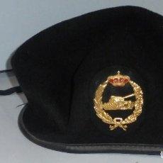 Militaria: GORRA DE LAS BRIGADAS DE TANQUE. TALLA 56. VER FOTOS.. Lote 122088347