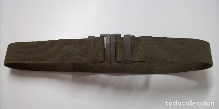 CINTO LONA KAKI AÑOS 70 (Militar - Cinturones y Hebillas )