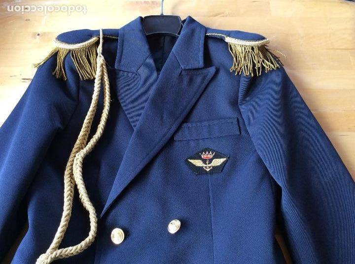 Militaria: Chaqueta de comunión marinero azul .Marca Alsabar Zaragoza - Foto 2 - 122263651
