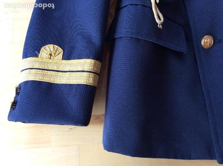 Militaria: Chaqueta de comunión marinero azul .Marca Alsabar Zaragoza - Foto 3 - 122263651