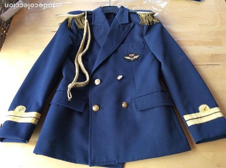 CHAQUETA DE COMUNIÓN MARINERO AZUL .MARCA ALSABAR ZARAGOZA (Militar - Otros relacionados con uniformes )
