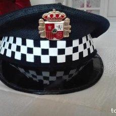 Militaria: ANTIGUA GORRA POLICIA LOCAL. Lote 122546311