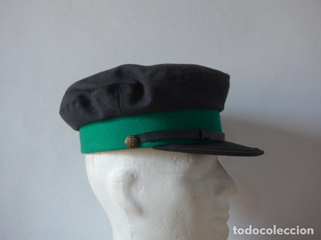 ANTIGUA GORRA DE TRANVIA DE BARCELONA, ORIGINAL. (Militar - Boinas y Gorras )