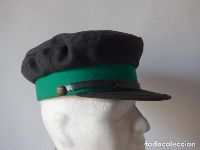 Militaria: Antigua gorra de tranvia de Barcelona, original. - Foto 2 - 122776611
