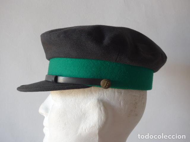 Militaria: Antigua gorra de tranvia de Barcelona, original. - Foto 4 - 122776611