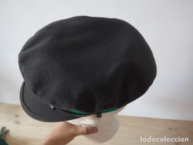 Militaria: Antigua gorra de tranvia de Barcelona, original. - Foto 5 - 122776611