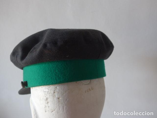 Militaria: Antigua gorra de tranvia de Barcelona, original. - Foto 6 - 122776611