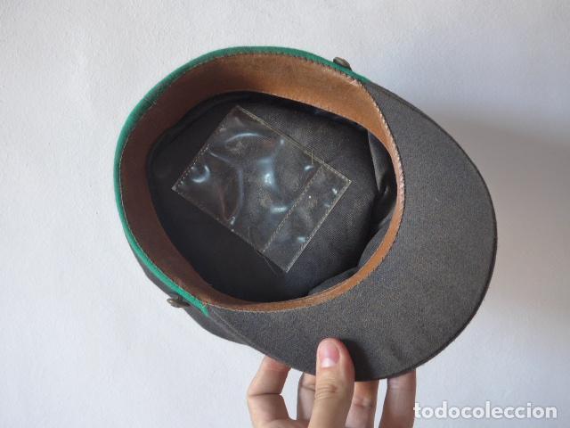 Militaria: Antigua gorra de tranvia de Barcelona, original. - Foto 7 - 122776611
