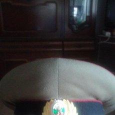 Militaria: BULGARIA, GORRA DE PLATO, MILITAR.. Lote 57307493
