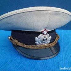 Militaria: GORRA DE PLATO ANTIGUA MARINA DE RUSIA. Lote 122993287