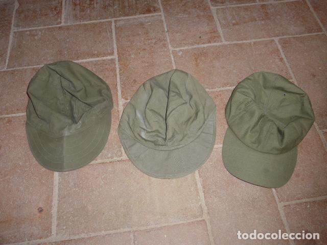 LOTE 3 GORRA MILITAR A IDENTIFICAR (Militar - Boinas y Gorras )