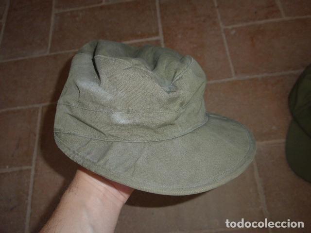 Militaria: Lote 3 gorra militar a identificar - Foto 2 - 124018071