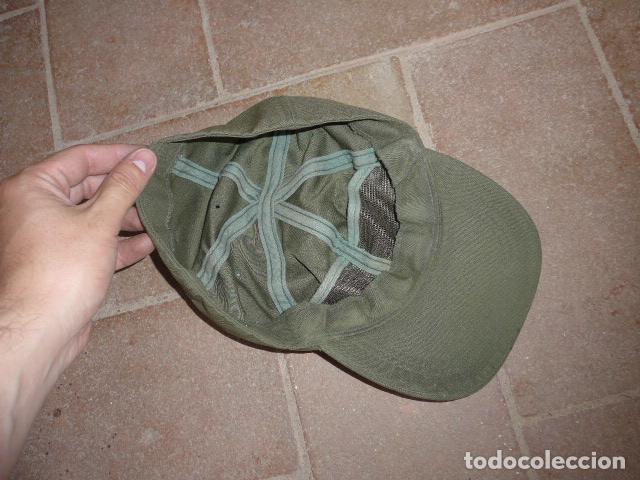 Militaria: Lote 3 gorra militar a identificar - Foto 6 - 124018071