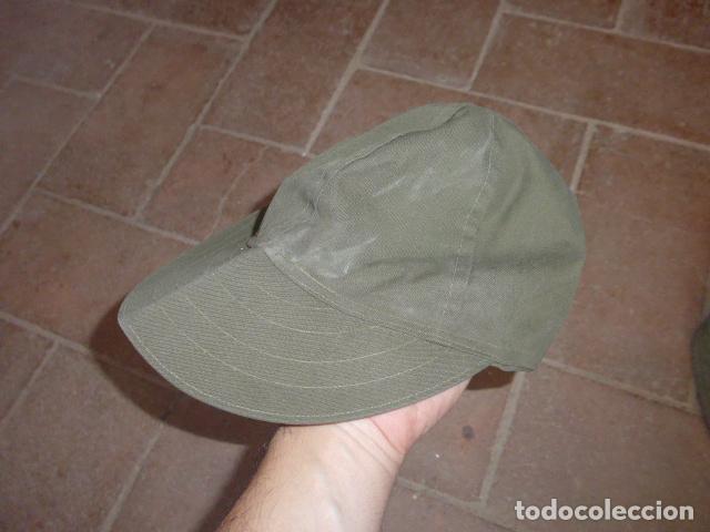 Militaria: Lote 3 gorra militar a identificar - Foto 7 - 124018071