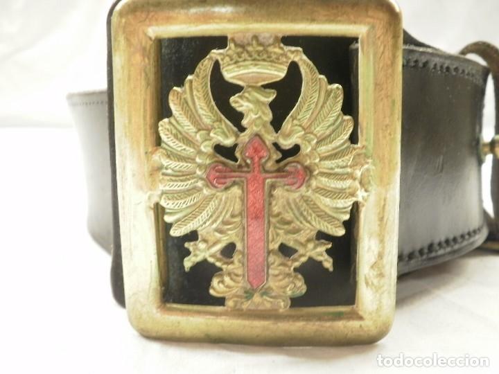 Militaria: CINTURON MILITAR DEL EJERCITO DE TIERRA. AÑOS 50 - Foto 2 - 124656759