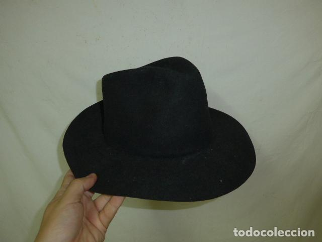 Militaria: Lote 2 antiguo sombrero o gorro de sudamerica, tipo vaquero oeste. Originales. - Foto 2 - 125149071