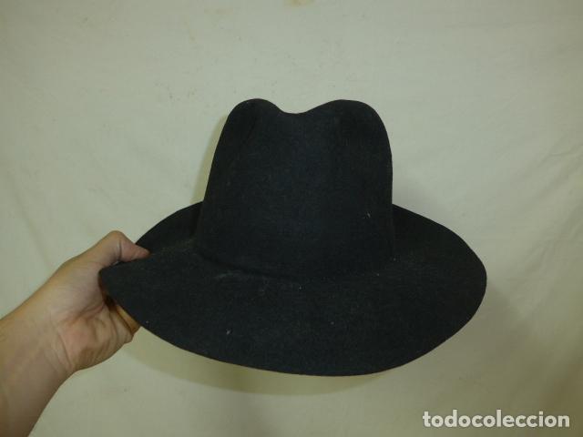 Militaria: Lote 2 antiguo sombrero o gorro de sudamerica, tipo vaquero oeste. Originales. - Foto 4 - 125149071