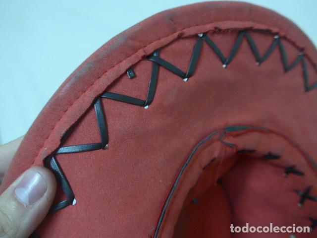 Militaria: Lote 2 antiguo sombrero o gorro de sudamerica, tipo vaquero oeste. Originales. - Foto 11 - 125149071