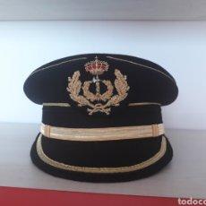 Militaria: GORRA DE PLATO DE GRAN GALA DE JURIDICO CON GALLETA BORDADA A MANO. Lote 126024716