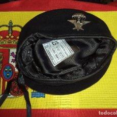 Militaria: BOINA ELOSEGUI EZAPAC-ESCUADRÓN DE ZAPADORES PARACAIDISTAS -E DEL AIRE TALLA 57. Lote 126076879
