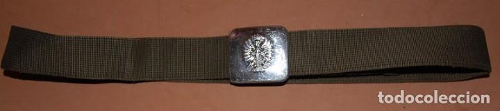 CINTURON MILITAR EJERCITO DE TIERRA AÑOS 80-04 (Militar - Cinturones y Hebillas )