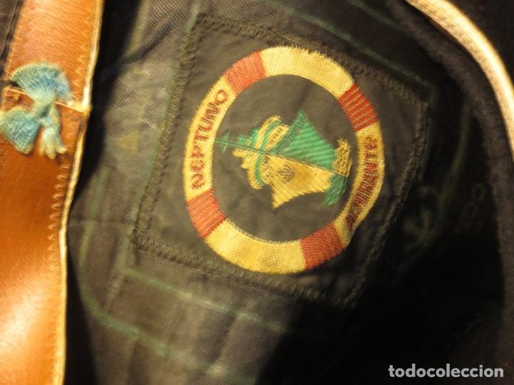 Militaria: BOINA NEGRA NEPTUNO ALMIRANTE FIRMA CASA SOMBREROS J ACEBEDO CALLE ALTAMIRA ALICANTE - Foto 6 - 126789327