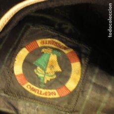 Militaria: BOINA NEGRA NEPTUNO ALMIRANTE FIRMA CASA SOMBREROS J ACEBEDO CALLE ALTAMIRA ALICANTE. Lote 126789327