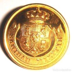 Militaria: BOTON SANIDAD MILITAR 1868. Lote 130221199