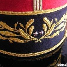 Militaria: BELLISIMO KEPI O GORRA DE GALA O PARADA DE GENERAL FRANCÉS. MODELO 1984. GRAN CALIDAD EN EL BORDADO.. Lote 127921655