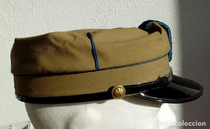 TERESIANA ATN. GORRA TROPAS NÓMADAS DEL SÁHARA TALLA GRANDE 59, PERFECTO ESTADO. (Militar - Boinas y Gorras )