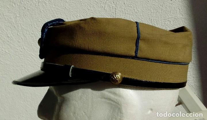 Militaria: TERESIANA ATN. GORRA TROPAS NÓMADAS DEL SÁHARA TALLA GRANDE 59, PERFECTO ESTADO. - Foto 5 - 128207107